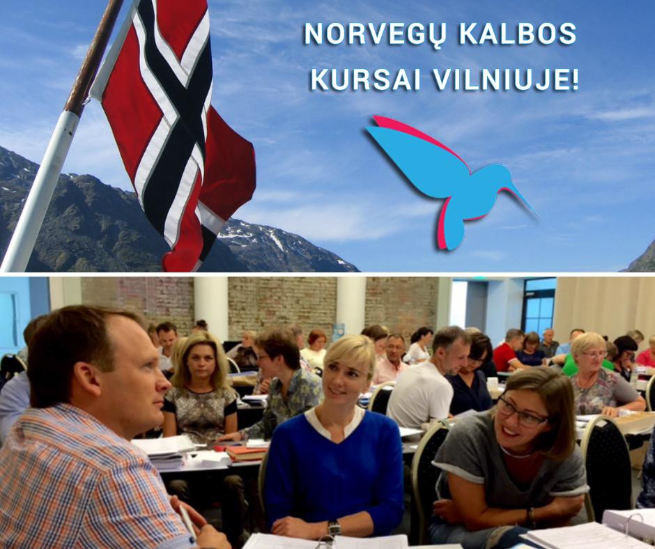 Norvegu kalbos kursai Vilniuje