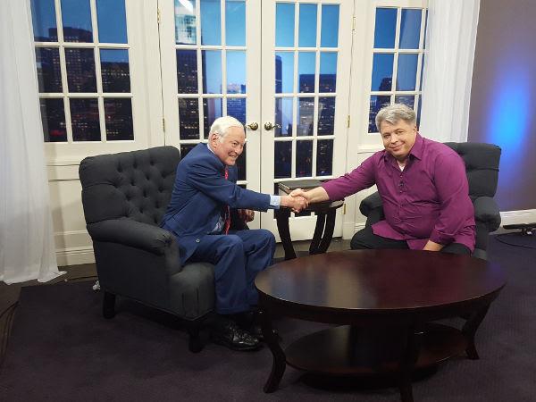 Brian Tracy ir Algirdas Karalius JAV TV laidoje - Brian Tracy TV Show