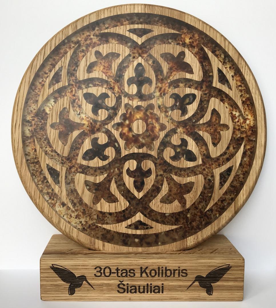 30 Kolibris Siauliai apdovanojimas